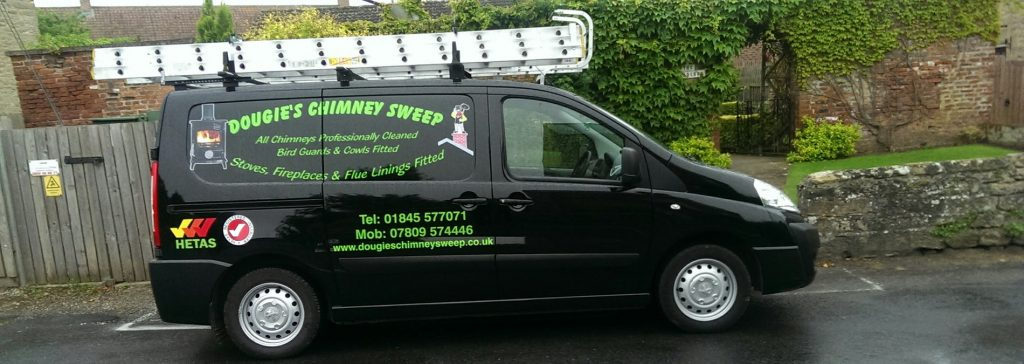 Dougie's Chimney Sweep Van