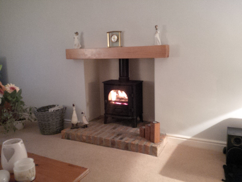 The Stove Fitter - A Job Well Done